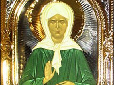 Мощи святой Матроны Видео