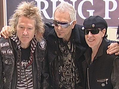 «Scorpions» в Ярославле. Видео