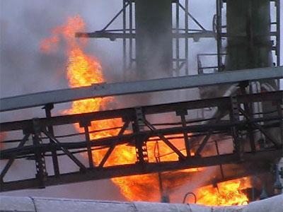Пожар на НПЗ