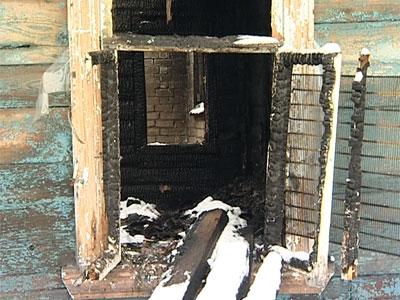 Пожар в переулке Маяковского