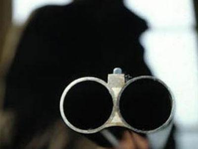 Убил жену из охотничьего ружья