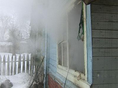 Пожар на Окружном переулке