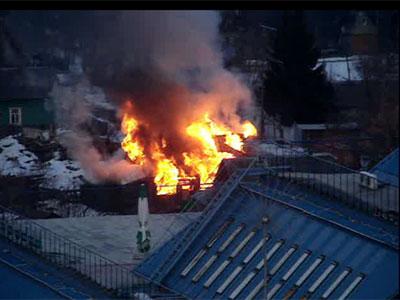 Пожар на переулке Достоевского