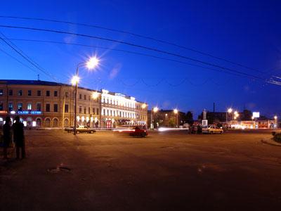 Ночной Ярославль