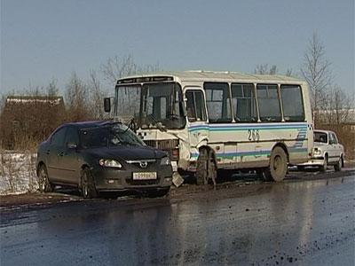 Авария на автодороге Рыбинск-Переборы