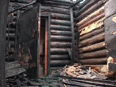 На улице Союзной сгорели два дома