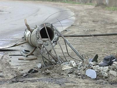 Водитель погиб, врезавшись в столб