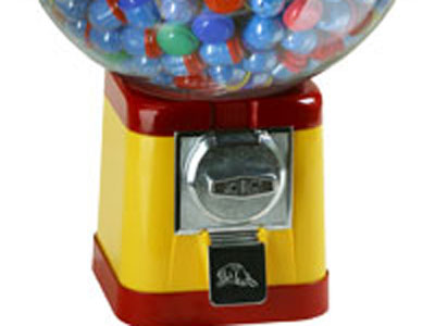 Похитили автомат с жевательной резинкой