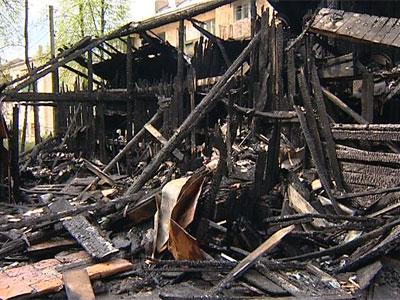 Пожар на улице Жукова