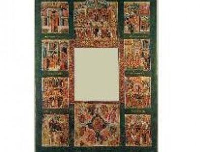В Ярославль прибыла рама с клеймами иконы Казанской Божьей Матери