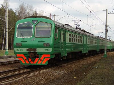 Мужчину сбил поезд