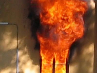 В пожаре погиб мужчина