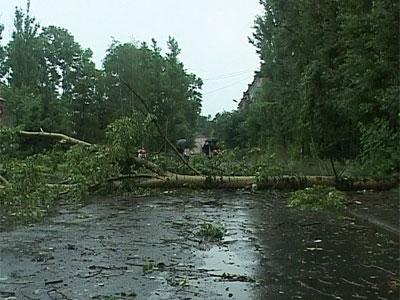 Ураган в области