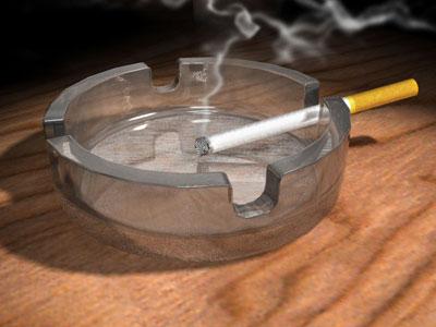 Смерть от непотушенной сигареты