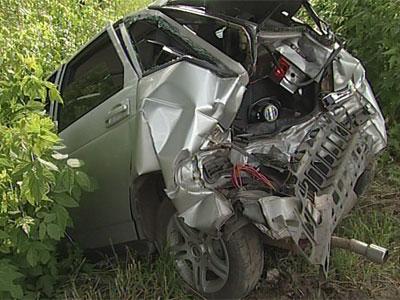 Авария на Магистральной: столкнулись три автомобиля