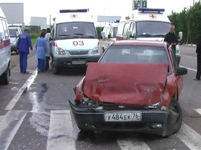 Авария на трассе Москва-Холмогоры