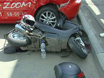Авария со скутером