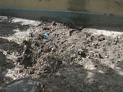 На проспекте Ленина сгорел подземный кабель