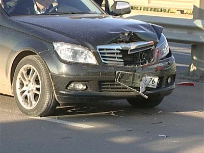 Столкнулись пять автомобилей