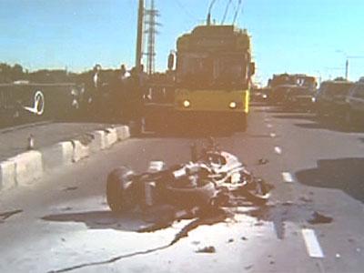 Ярославские байкеры попали в аварию в Липецке