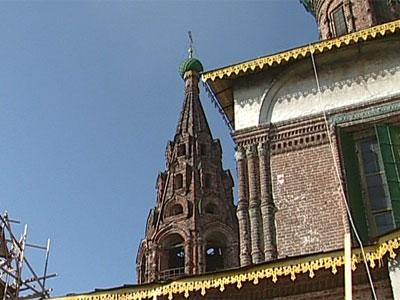 Реставрация ярославских храмов