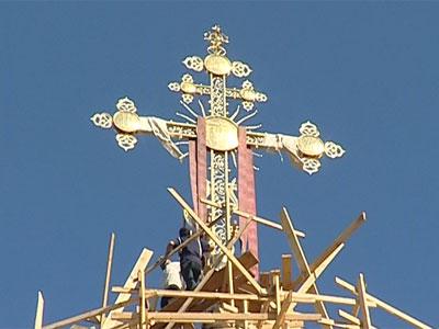 Кресты на Успенском соборе