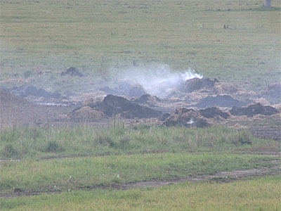 Пожар в Агрофирме