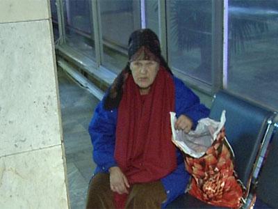 Пенсионеры живут на вокзале