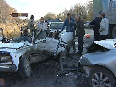 Авария на Тутаевском шоссе