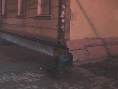 Черный чемодан на улице Советской