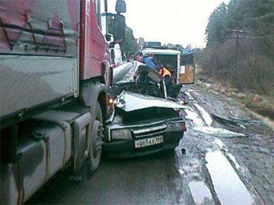 Авария на московской трассе: погибли двое