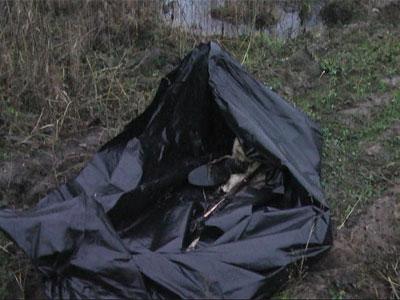 В болоте найден труп