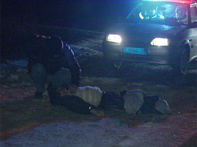 Авария возле деревни Зверинцы