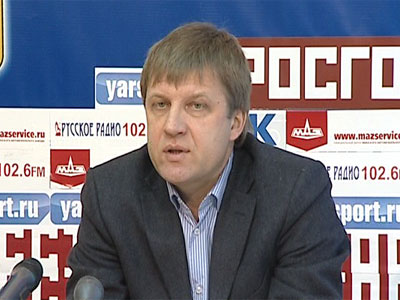 Пресс-конференция с Александром Рожновым
