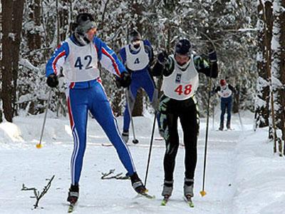 Зимний триатлон в Ярославле