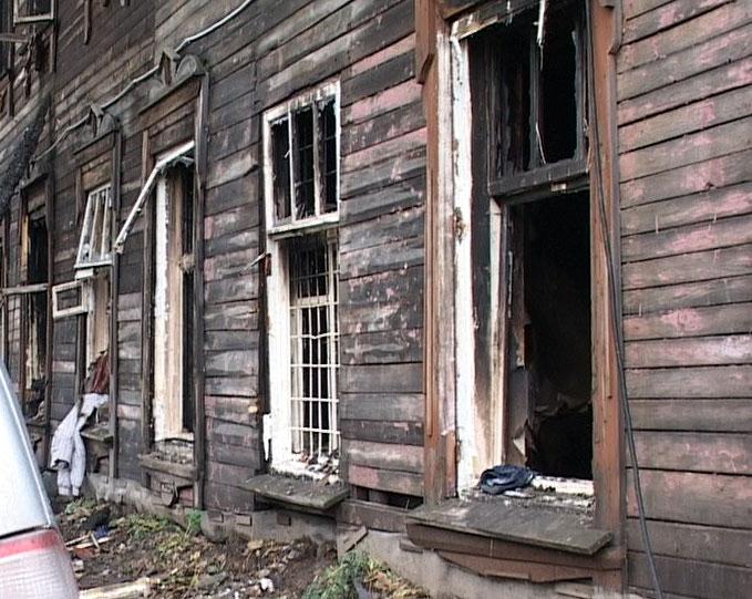 Сгорел дом на улице Песочная