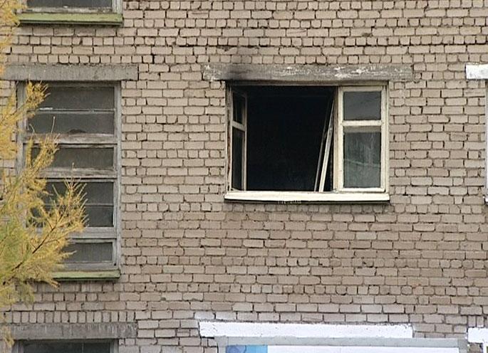 Пожар в квартире на улице 1-я Жилая