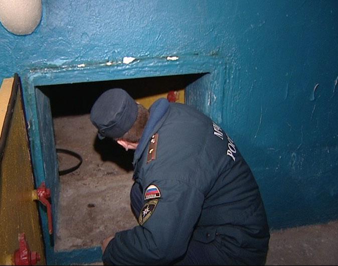 МЧС проверили бомбоубежища