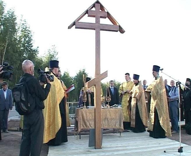 На храме посвященном Ярославу Мудрому появится купол