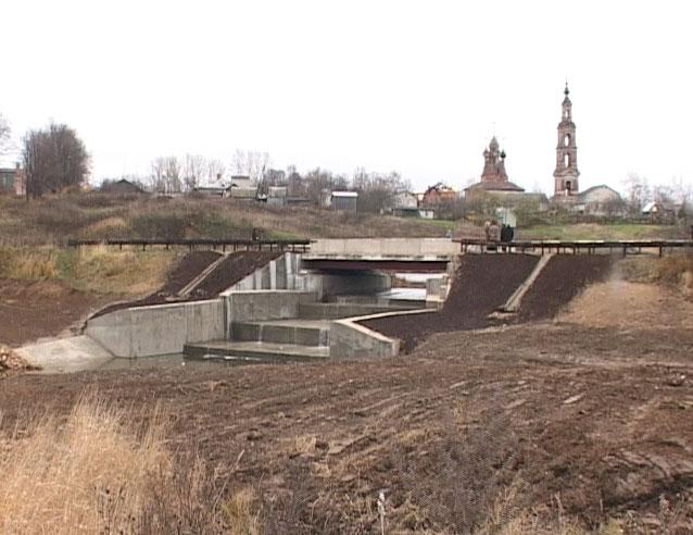 В селе Курба после реконструкции введена в эксплуатацию плотина