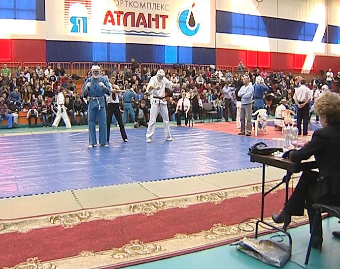 Открытый чемпионат области по Кудо