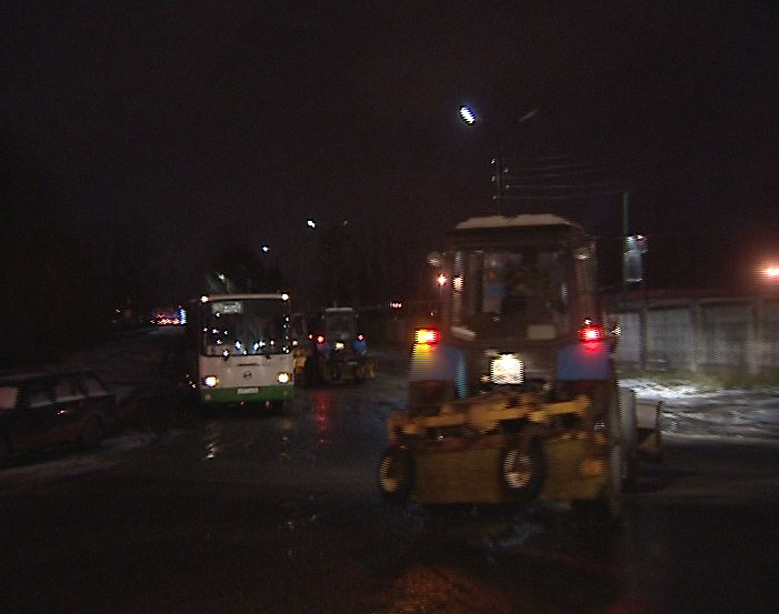 О ночной уборке снега в Ярославле