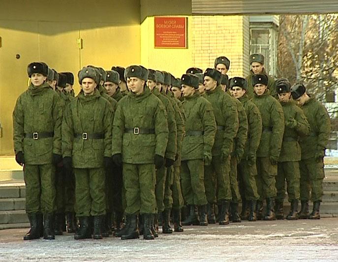 Отправились на службу в Президентский полк