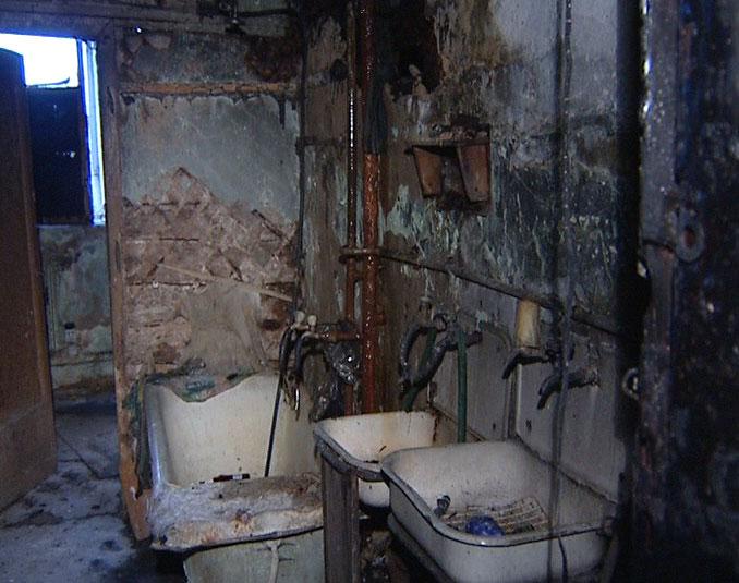 Сгорел дом на Автозаводской