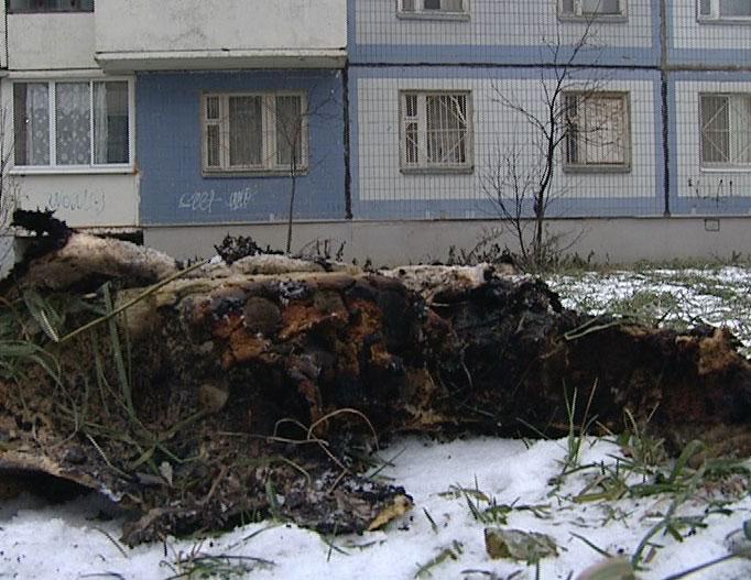 Пожар в квартире, погиб мужчина