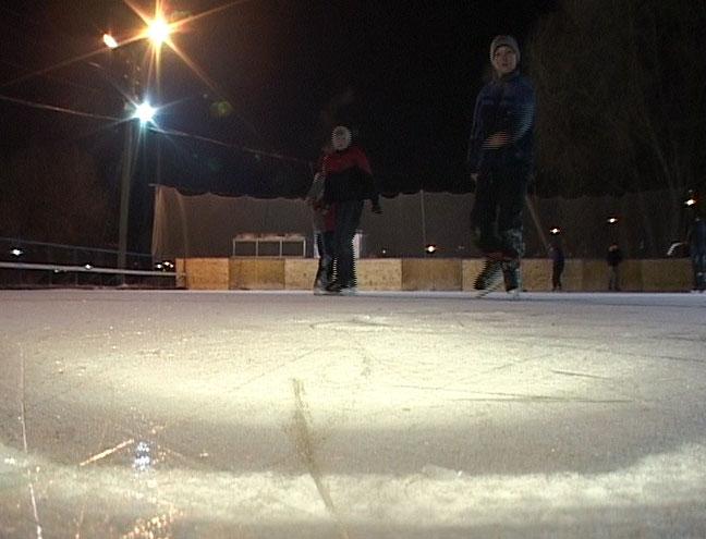Открылся сезон зимних катаний на льду