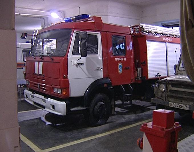Новый автомобиль в пожарной части
