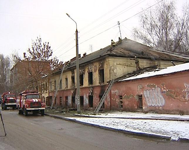 Загорелся дом на Кооперативной, 12