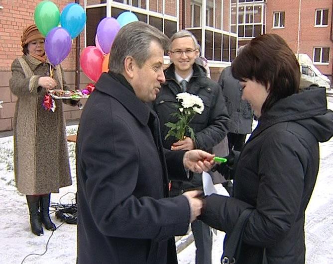 Жители Ростова получили новые квартиры