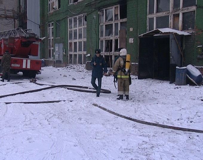 Сгорел в печи завода